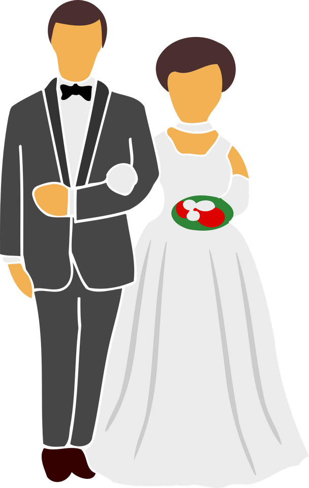 Gratulace k svatbě, obrázková blahopřání - Gratulace k svatbě