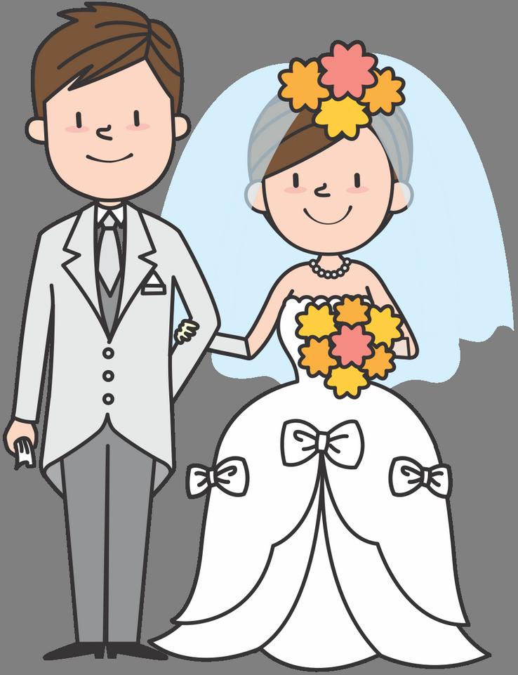 Svatební přání, obrázky ke stažení - svatební blahopřání